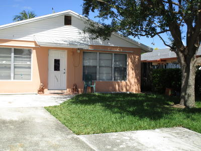 Jupiter Single Family Home For Sale: 1111 Neoga St