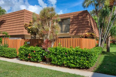 Jupiter Townhouse For Sale: 2516 25th Court #2516