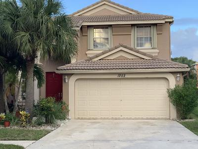 Royal Palm Beach Single Family Home For Sale: 1252 Oakwater Drive