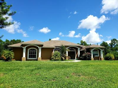 Loxahatchee Single Family Home For Sale: 17683 81st Lane