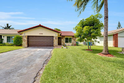 Coral Springs Single Family Home For Sale: 2488 NW 91 Avenue