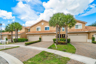 Lake Worth Townhouse For Sale: 4405 Colony View Drive
