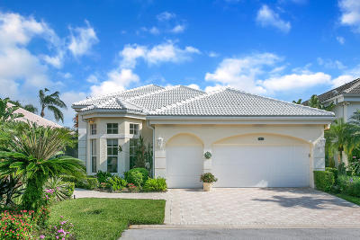 Palm Beach Gardens Single Family Home For Sale: 174 Windward Drive