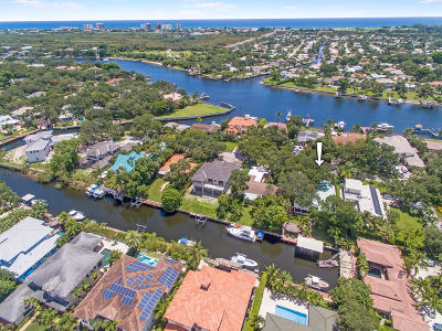 Palm Beach Gardens Single Family Home For Sale: 12831 S Shore Drive