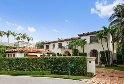 Palm Beach Single Family Home For Sale: 105 Casa Bendita