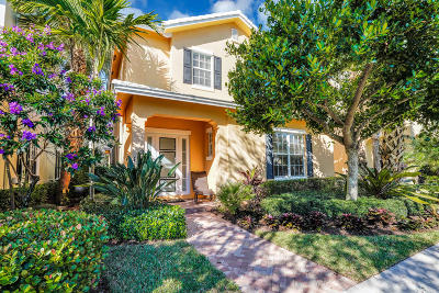 Jupiter Single Family Home For Sale: 172 W Bay Cedar Circle