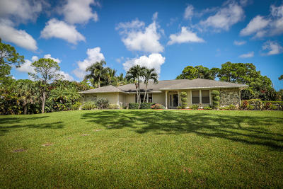 Palm Beach Gardens Single Family Home For Sale: 7381 150th Court