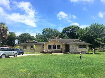 Stuart Single Family Home For Sale: 3110 SE Fairmont Street