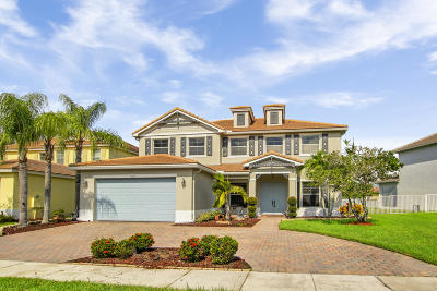 Royal Palm Beach Single Family Home For Sale: 9271 Madewood Court