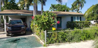 Lake Worth Single Family Home Contingent: 1402 16th Avenue