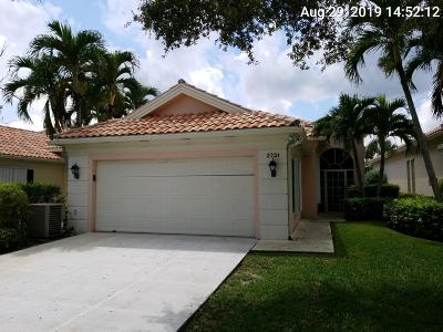 West Palm Beach Single Family Home For Sale: 2731 James River Road