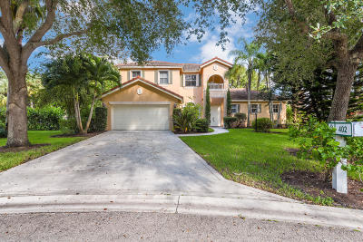 Jupiter Single Family Home For Sale: 402 Mangrove Point