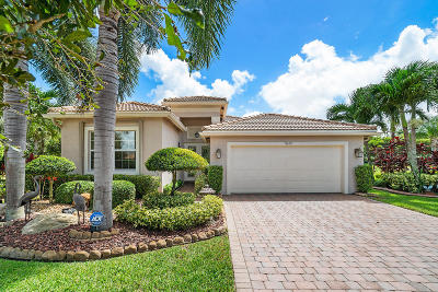 Boynton Beach Single Family Home For Sale: 10612 Stone Garden Drive