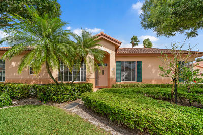 Palm Beach Gardens Single Family Home For Sale: 83 Monterey Pointe Drive