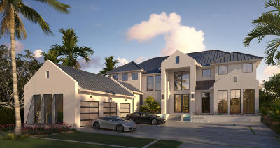 Ocean Ridge Single Family Home For Sale: 3 Beachway