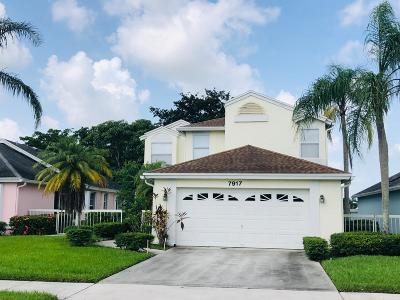 Delray Beach Single Family Home For Sale: 7917 Mansfield Hollow Road