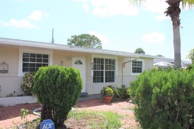 West Palm Beach Single Family Home For Sale: 916 Caroline Avenue