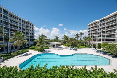 Palm Beach Condo For Sale: 2100 S Ocean Boulevard #103s