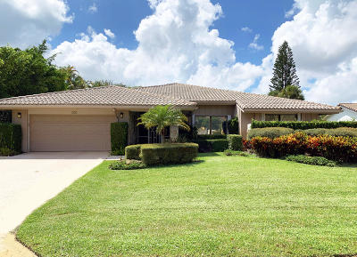 Delray Beach Single Family Home Contingent: 666 Pine Lake Drive