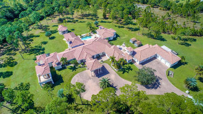 Martin County Single Family Home For Sale: 2000 SE Ranch Road