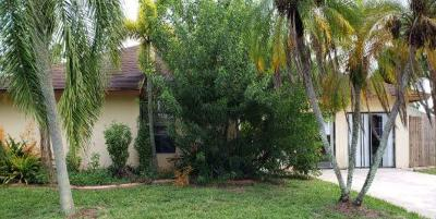 Boynton Beach Single Family Home For Auction: 5412 Steven Road