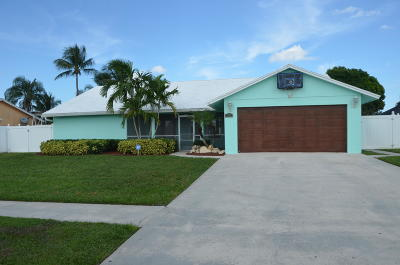 Royal Palm Beach Single Family Home For Sale: 210 Cordoba Circle