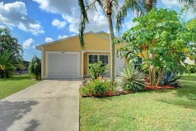 Boynton Beach Single Family Home For Sale: 5431 Courtney Circle