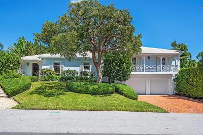 Palm Beach Single Family Home For Sale: 273 Bahama Lane