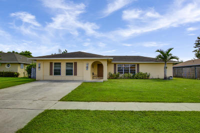 Royal Palm Beach Single Family Home For Sale: 123 Starling Avenue