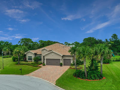 Palm City Single Family Home For Sale: 604 SW Sea Green Street