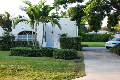 Delray Beach Single Family Home For Sale: 21 NE 12th Street NE