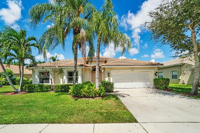 Lake Worth Single Family Home For Sale: 5386 Oakmont Village Circle
