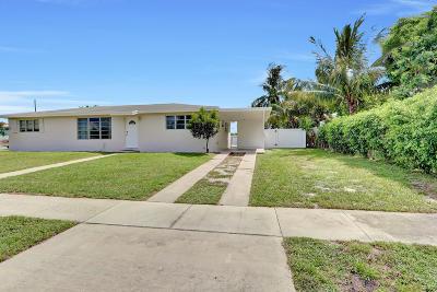 Delray Beach Single Family Home Contingent: 2554 Dorson Way