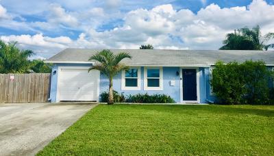 Lake Park Single Family Home For Sale: 608 W Kalmia Drive