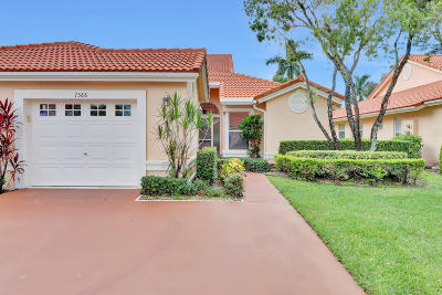 Boynton Beach Single Family Home For Sale: 7588 Island Breeze Terrace