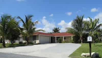 Boynton Beach Single Family Home For Sale: 2545 SW 13th Court