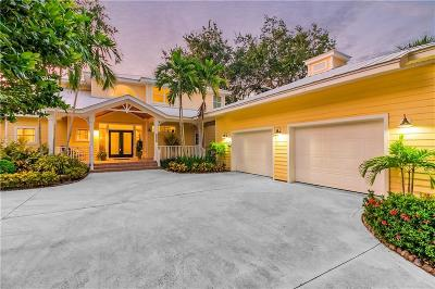 Jensen Beach Single Family Home For Sale: 2600 NE Sabal Palm Way