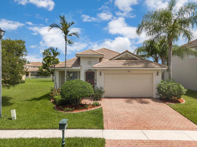 Royal Palm Beach Single Family Home For Sale: 390 Belle Grove Lane