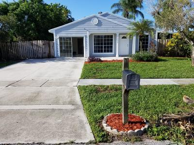 Royal Palm Beach Single Family Home For Sale: 10634 Aquarius Lane