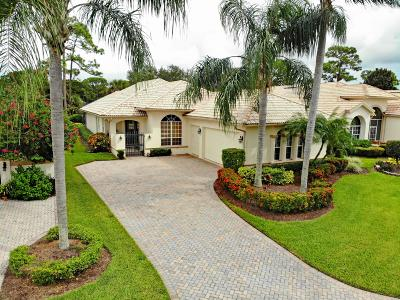 Port Saint Lucie Single Family Home For Sale: 7232 Mystic Way