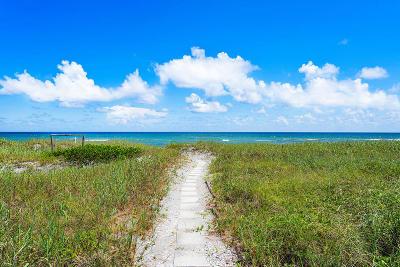 Delray Beach Townhouse For Sale: 1835 S Ocean Boulevard #I