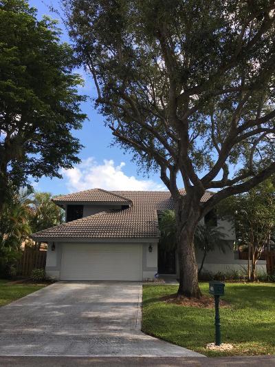 Boca Raton Single Family Home For Sale: 6601 Sweet Maple Lane