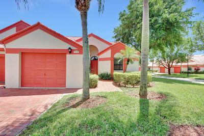 Delray Beach Single Family Home For Sale: 7972 Lexington Club Boulevard #B