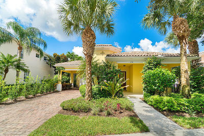 Jupiter Single Family Home For Sale: 256 San Remo Drive