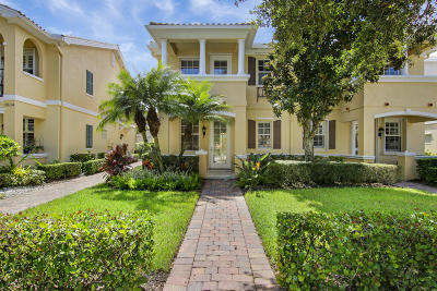 Jupiter Townhouse For Sale: 3830 Greenway Drive