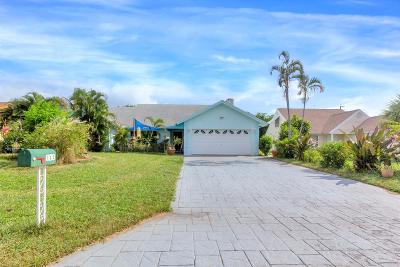 Delray Beach Single Family Home For Sale: 702 Mallard Drive