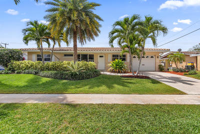 Boca Raton Single Family Home For Sale: 1298 SW 7th Street