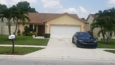 Lake Worth Single Family Home For Sale: 7929 Piper Lane