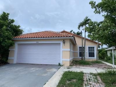 Boynton Beach Single Family Home For Sale: 5552 Boynton Place