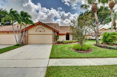 Boynton Beach Single Family Home For Sale: 7310 Hearth Stone Avenue